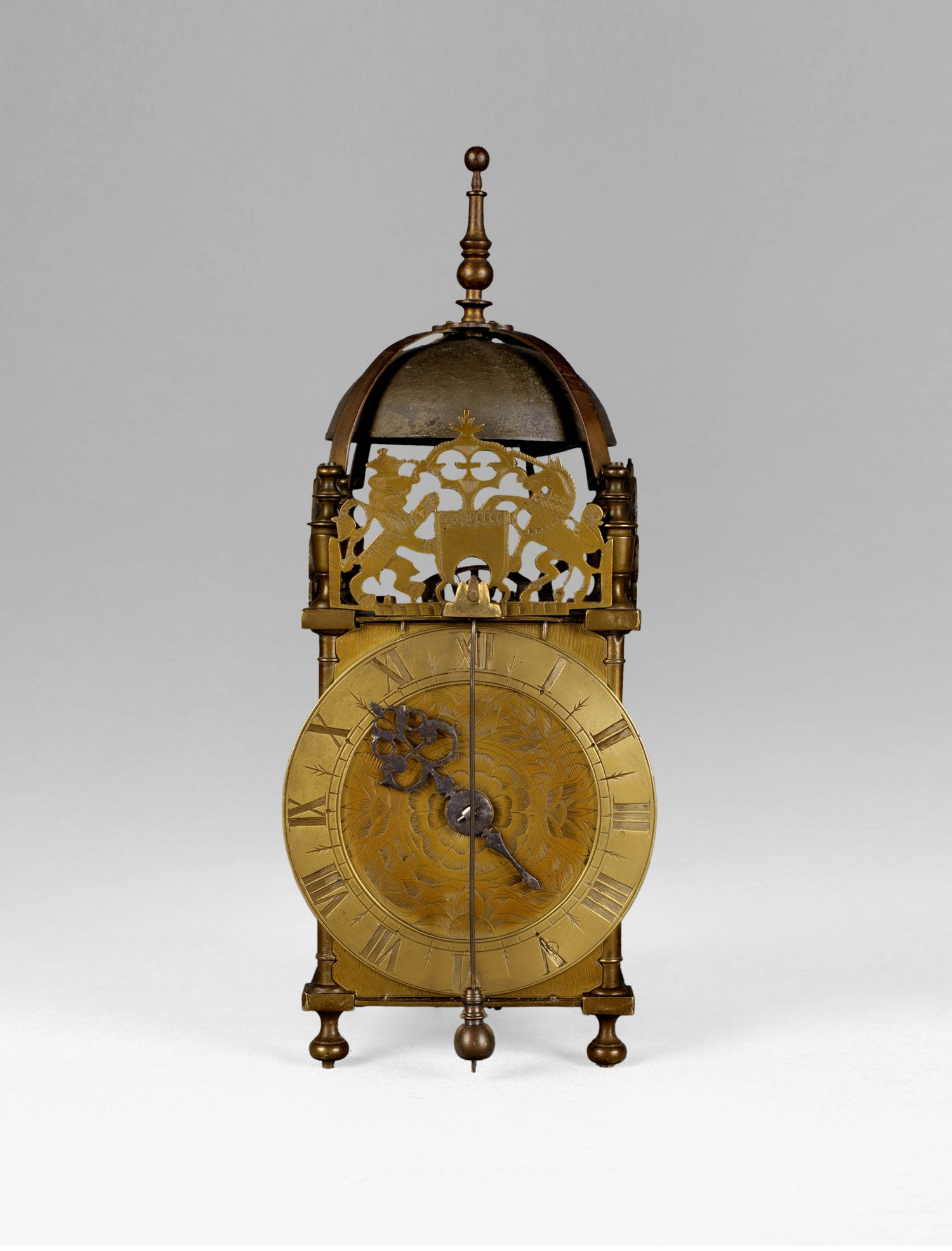 17TH CENTURY ANGLO-DUTCH LANTERN CLOCK