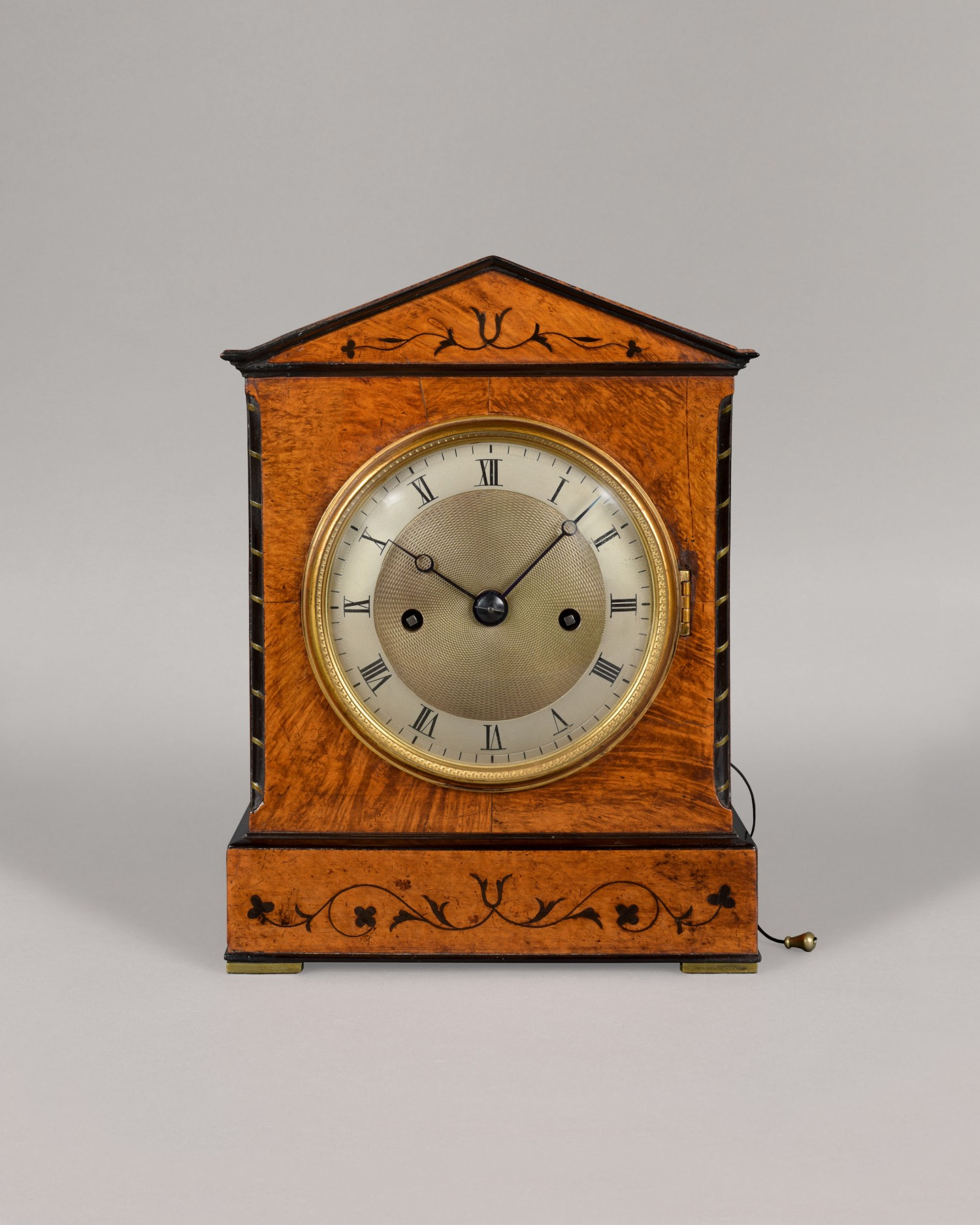 BARWISE. A FINE REGENCY PERIOD ARCHITECTURAL STRIKING MANTEL CLOCK.