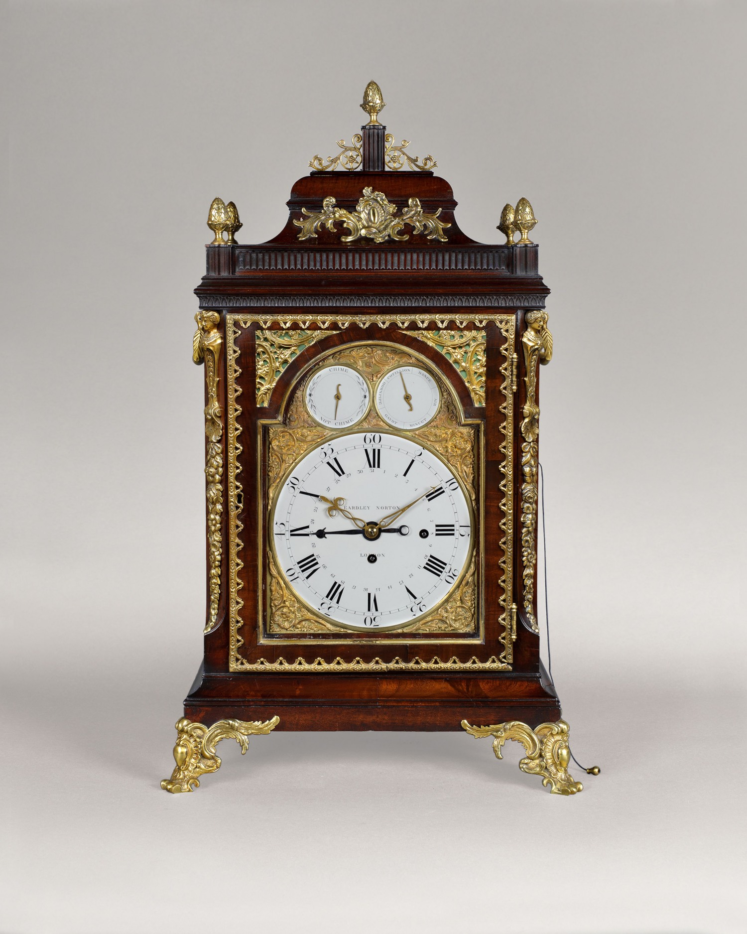 EARDLEY NORTON. A FINE GEORGE III PERIOD MUSICAL TABLE CLOCK