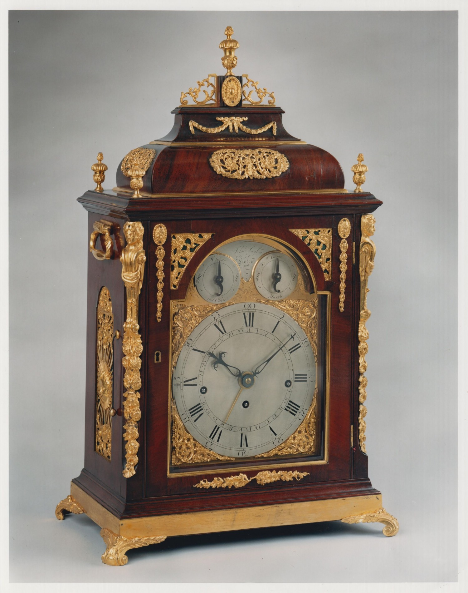 JOHN TAYLOR. A RARE MUSICAL BRACKET CLOCK BY THIS EXCELLENT CLOCKMAKER