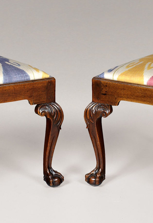 PAIR OF GEORGE II PERIOD CHAIRS